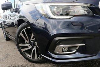 2018 Subaru Liberty B6 MY18 2.5i CVT AWD Premium Blue 6 Speed Constant Variable Sedan.