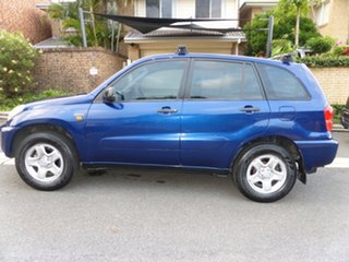 2002 Toyota RAV4 ACA21R Edge (4x4) Blue 4 Speed Automatic 4x4 Wagon