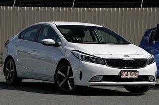 2017 Kia Cerato YD MY18 Sport White 6 Speed Sports Automatic Sedan.