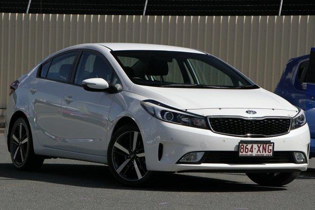 Used Kia Cerato YD MY18 Sport, 2017 Kia Cerato YD MY18 Sport White 6 Speed Sports Automatic Sedan