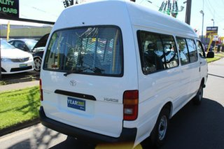 2004 Toyota HiAce RZH125R Commuter Super LWB White 5 Speed Manual Bus