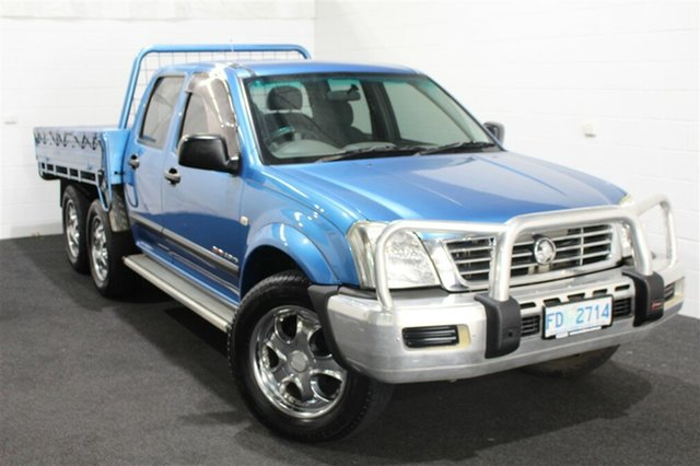 Used Holden Rodeo RA MY05.5 LX Crew Cab, 2005 Holden Rodeo RA MY05.5 LX Crew Cab Blue 5 Speed Manual Utility