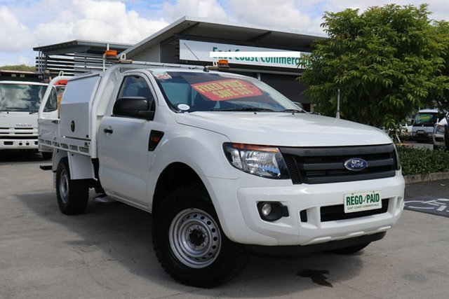 Used Ford Ranger PX XL Plus, 2015 Ford Ranger PX XL Plus White 6 speed Automatic Cab Chassis