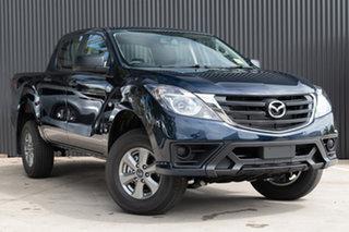 2019 Mazda BT-50 UR0YG1 XT 4x2 Hi-Rider Deep Crystal Blue 6 Speed Sports Automatic Utility.