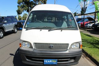 2004 Toyota HiAce RZH125R Commuter Super LWB White 5 Speed Manual Bus.