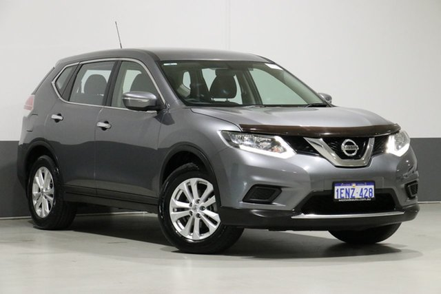 Used Nissan X-Trail T32 ST (FWD), 2014 Nissan X-Trail T32 ST (FWD) Grey Continuous Variable Wagon