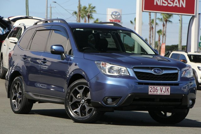 Used Subaru Forester S4 MY14 2.5i-S Lineartronic AWD, 2014 Subaru Forester S4 MY14 2.5i-S Lineartronic AWD Blue 6 Speed Constant Variable Wagon