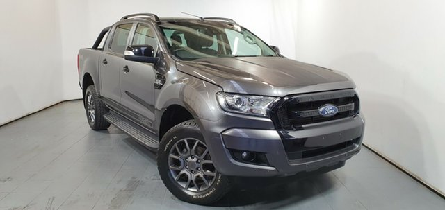 Used Ford Ranger PX MkII FX4 Double Cab, 2017 Ford Ranger PX MkII FX4 Double Cab Grey 6 Speed Manual Utility