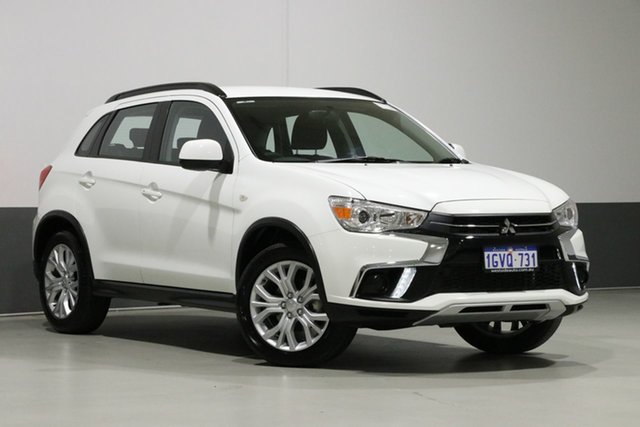 Used Mitsubishi ASX XC MY19 ES (2WD), 2019 Mitsubishi ASX XC MY19 ES (2WD) White Continuous Variable Wagon