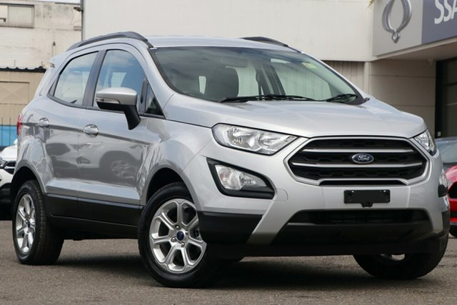 Used Ford Ecosport BL 2019.25MY Trend, 2019 Ford Ecosport BL 2019.25MY Trend Silver 6 Speed Automatic Wagon