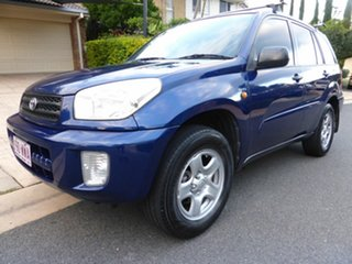 2002 Toyota RAV4 ACA21R Edge (4x4) Blue 4 Speed Automatic 4x4 Wagon.