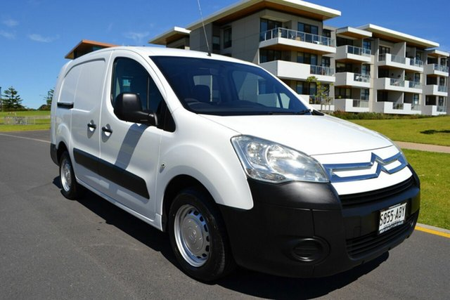 Used Citroen Berlingo II - M59 , 2008 Citroen Berlingo II - M59 White 5 Speed Manual Van