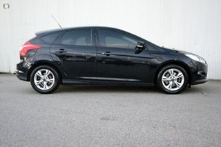 2012 Ford Focus LW Trend PwrShift Black 6 Speed Sports Automatic Dual Clutch Hatchback