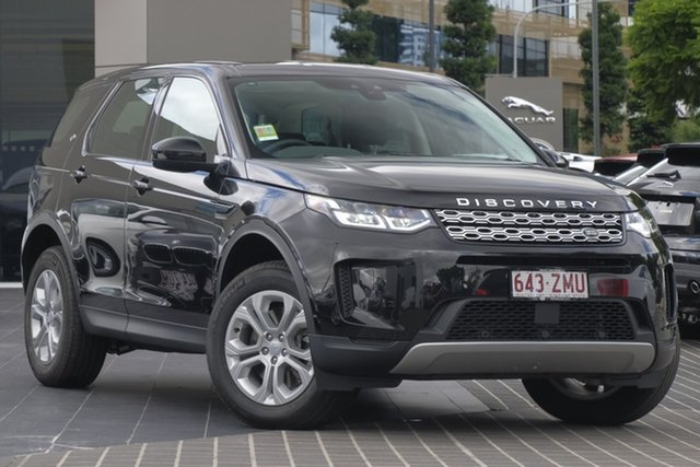 Demo Land Rover Discovery Sport L550 20MY D150 S, 2019 Land Rover Discovery Sport L550 20MY D150 S Santorini Black 9 Speed Sports Automatic Wagon