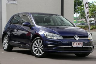 2017 Volkswagen Golf 7.5 MY18 110TSI DSG Comfortline Dark Blue 7 Speed Sports Automatic Dual Clutch.
