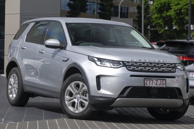 Demo Land Rover Discovery Sport L550 20MY D150 S, 2019 Land Rover Discovery Sport L550 20MY D150 S Indus Silver 9 Speed Sports Automatic Wagon
