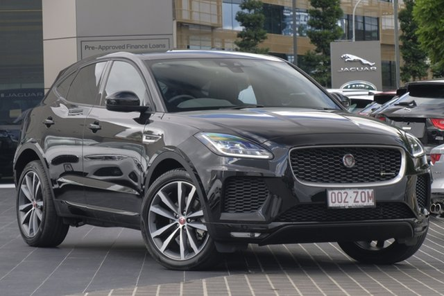 Demo Jaguar E-PACE X540 19MY D180 AWD R-Dynamic SE, 2018 Jaguar E-PACE X540 19MY D180 AWD R-Dynamic SE Santorini Black 9 Speed Sports Automatic Wagon