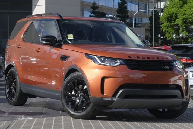 Demo Land Rover Discovery Series 5 L462 MY20 HSE, 2019 Land Rover Discovery Series 5 L462 MY20 HSE Namib Orange 8 Speed Sports Automatic Wagon