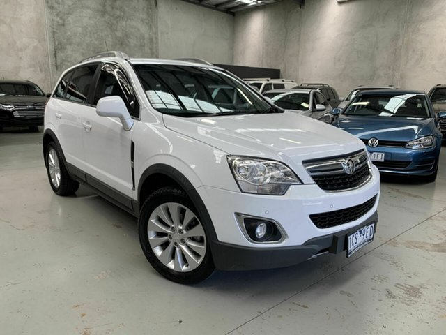 Used Holden Captiva CG MY14 5 AWD LT, 2014 Holden Captiva CG MY14 5 AWD LT White 6 Speed Sports Automatic Wagon