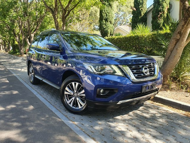 Used Nissan Pathfinder R52 Series II MY17 ST-L X-tronic 2WD, 2017 Nissan Pathfinder R52 Series II MY17 ST-L X-tronic 2WD Blue 1 Speed Constant Variable Wagon
