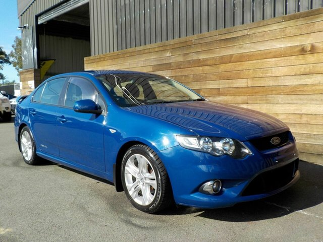 Used Ford Falcon FG XR6, 2008 Ford Falcon FG XR6 Blue 5 Speed Sports Automatic Sedan