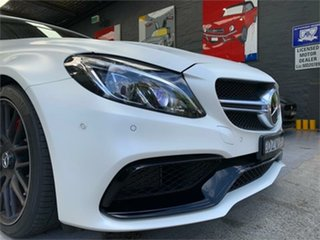 2017 Mercedes-Benz C-Class A205 C63 AMG S White Sports Automatic Cabriolet