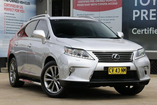 Used Lexus RX350 GGL15R MY12 Sports Luxury, 2014 Lexus RX350 GGL15R MY12 Sports Luxury Platinum Silver 6 Speed Automatic Wagon