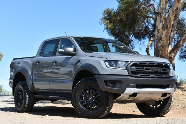 Used Ford Ranger PX MkIII 2019.00MY Raptor Pick-up Double Cab, 2019 Ford Ranger PX MkIII 2019.00MY Raptor Pick-up Double Cab Grey 10 Speed Sports Automatic Utility
