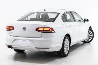 2019 Volkswagen Passat 3C (B8) MY19 132TSI DSG Comfortline White 7 Speed.