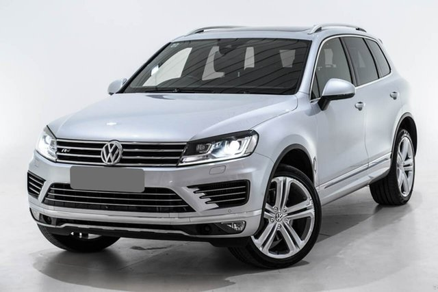 Used Volkswagen Touareg 7P MY16 V8 TDI Tiptronic 4MOTION R-Line, 2016 Volkswagen Touareg 7P MY16 V8 TDI Tiptronic 4MOTION R-Line Silver 8 Speed Sports Automatic