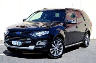 2016 Ford Territory SZ MkII Titanium Seq Sport Shift Black 6 Speed Sports Automatic Wagon.