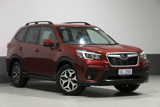 Used Subaru Forester MY19 2.5I (AWD), 2018 Subaru Forester MY19 2.5I (AWD) Crimson Red Continuous Variable Wagon