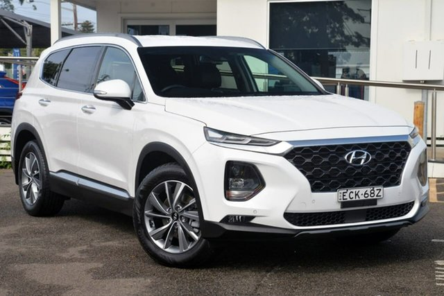 Used Hyundai Santa Fe TM MY19 Elite, 2019 Hyundai Santa Fe TM MY19 Elite White 8 Speed Sports Automatic Wagon