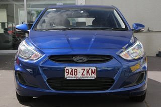 2016 Hyundai Accent RB3 MY16 Active Blue 6 Speed Manual Hatchback