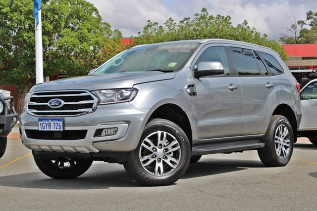 Used Ford Everest UA II 2019.75MY Trend 4WD, 2019 Ford Everest UA II 2019.75MY Trend 4WD Silver 10 Speed Sports Automatic Wagon