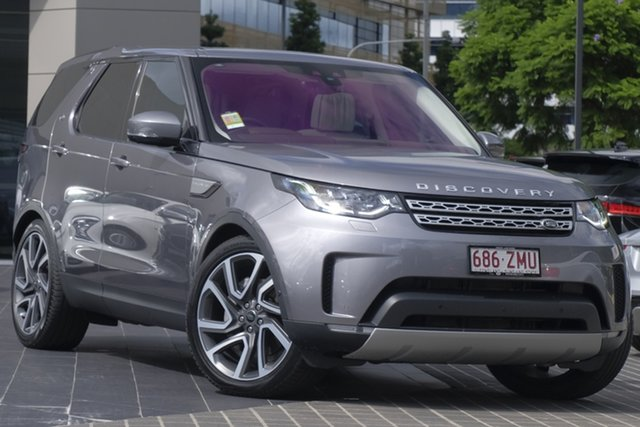 Demo Land Rover Discovery Series 5 L462 MY20 SD6 HSE Luxury, 2019 Land Rover Discovery Series 5 L462 MY20 SD6 HSE Luxury Eiger Grey 8 Speed Sports Automatic