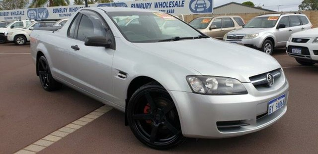 Used Holden Ute VE MY09.5 Omega, 2009 Holden Ute VE MY09.5 Omega Silver 4 Speed Automatic Utility