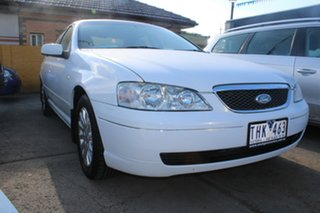 2004 Ford Fairmont BA White 4 Speed Auto Seq Sportshift Sedan