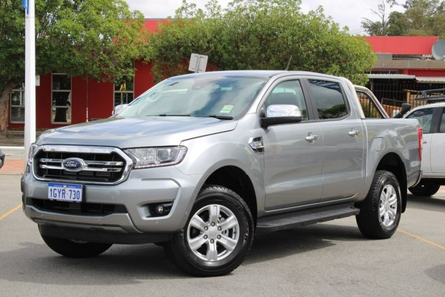 Used Ford Ranger PX MkIII 2020.25MY XLT Pick-up Double Cab, 2020 Ford Ranger PX MkIII 2020.25MY XLT Pick-up Double Cab Silver 6 Speed Sports Automatic Utility