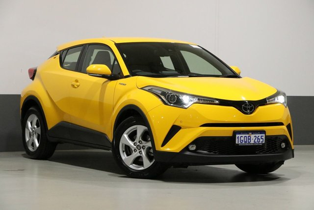 Used Toyota C-HR NGX10R Update (2WD), 2018 Toyota C-HR NGX10R Update (2WD) Yellow Continuous Variable Wagon