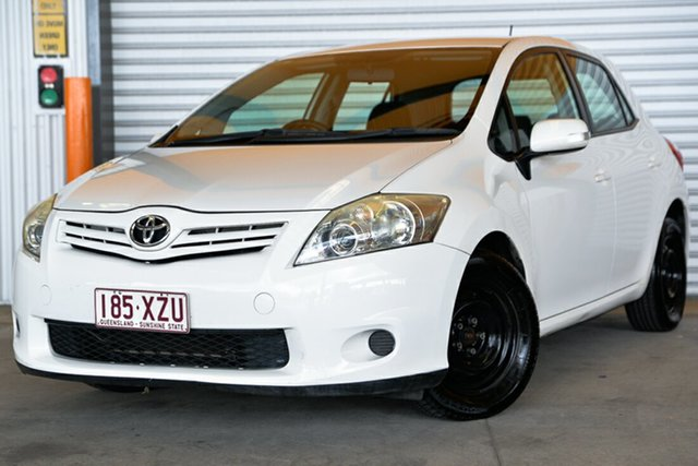 Used Toyota Corolla ZRE152R MY10 Ascent, 2010 Toyota Corolla ZRE152R MY10 Ascent White 4 Speed Automatic Hatchback