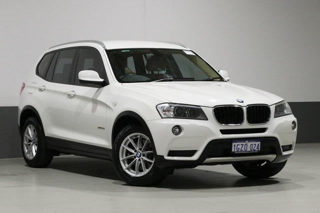 Used BMW X3 F25 MY13 xDrive 20I, 2013 BMW X3 F25 MY13 xDrive 20I White 8 Speed Automatic Wagon