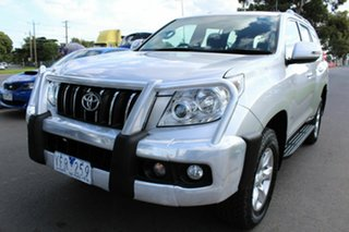 2011 Toyota Landcruiser Prado KDJ150R GXL Silver 5 Speed Sports Automatic Wagon