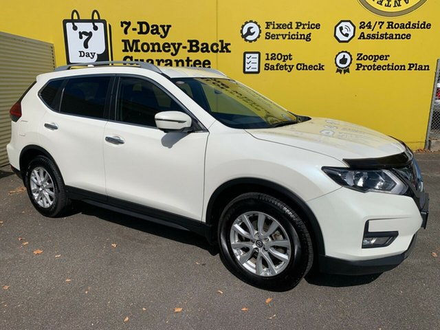 Used Nissan X-Trail T32 Series II ST-L X-tronic 4WD, 2018 Nissan X-Trail T32 Series II ST-L X-tronic 4WD White 7 Speed Constant Variable Wagon