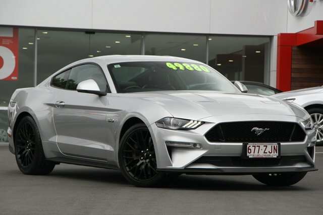 Used Ford Mustang FN 2018MY GT Fastback SelectShift, 2018 Ford Mustang FN 2018MY GT Fastback SelectShift Ingot Silver 10 Speed Sports Automatic Fastback