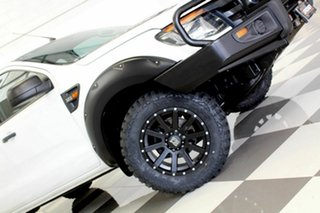 2012 Ford Ranger PX XL 3.2 (4x4) White 6 Speed Automatic Dual Cab Chassis