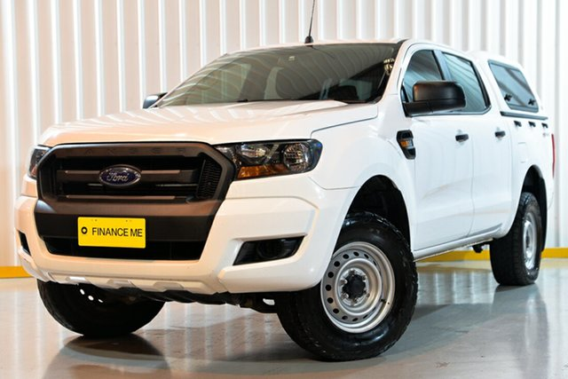 Used Ford Ranger PX MkII XL Double Cab 4x2 Hi-Rider, 2017 Ford Ranger PX MkII XL Double Cab 4x2 Hi-Rider White 6 Speed Sports Automatic Utility