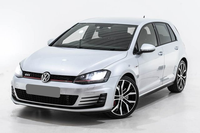 Used Volkswagen Golf VII MY14 GTI DSG Performance, 2014 Volkswagen Golf VII MY14 GTI DSG Performance Silver 6 Speed Sports Automatic Dual Clutch