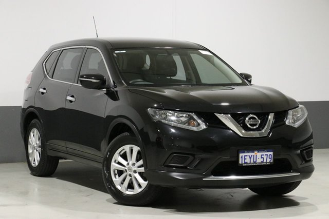 Used Nissan X-Trail T32 ST (FWD), 2015 Nissan X-Trail T32 ST (FWD) Black Continuous Variable Wagon