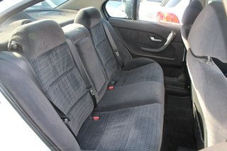 2004 Ford Fairmont BA White 4 Speed Auto Seq Sportshift Sedan